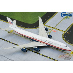 Air Force One Boeing 747-8i Presidential 30000 New Proposed livery - Gemini 1/400 - GJAFO1913 - Passion Diecast