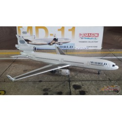 Dragon Wings 1/400 McDonnell Douglas MD-11 World Airways / N271WA - Passion Diecast