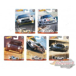 Hot Wheels 1:64 Car Culture 2020  ''R'' Case Hill Climbers  Assortment -  SET OF 5 CARS - FPY86-956R  - Passion Diecast