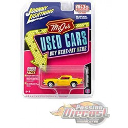 1977 Chevrolet Camaro Weathered Yellow  Used Cars - Johnny Lightning / MiJo Exclusives 1:64 - JLCP7084 -  Passion Diecast
