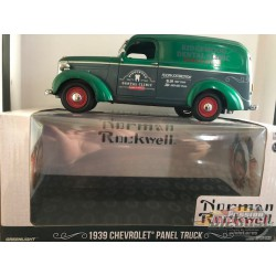 Chevrolet Panel Truck 1939 -Norman Rockwell Delivery Vehicles GREENMACHINE 18249GR 1/24