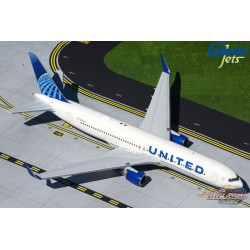 United Airlines Boeing 767-300 New Livery - N676UA -  Gemini 200 - G2UAL893 - Passion Diecast