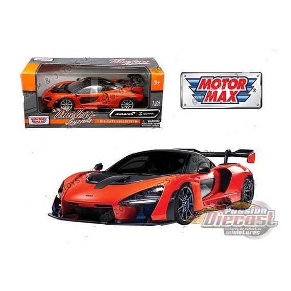 McLaren Senna Orange - Motormax 1/24 - 79355 OR - Passion Diecast