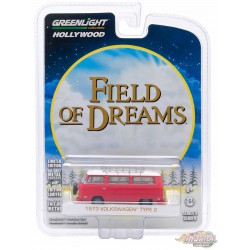 1973 Volkswagen Type 2 Bus  - Field of Dreams -  Hollywood Series 9 - Greenlight 1/64 - 29980 B PASSION DIECAST