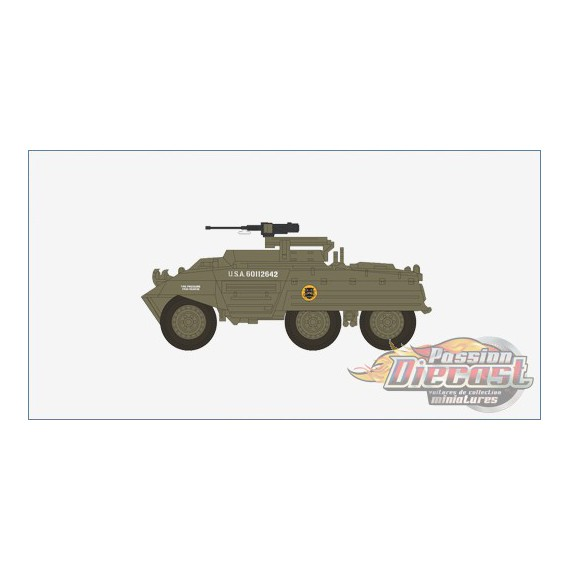 M20 Armored Utility Car US Army 807th Tank Destroyer Btn, Germany, 1945 - Hobby Master 1/72 HG3814 - Passion Diecast
