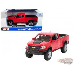 2017 Chevrolet Colorado ZR2  Red Maisto 1/27 -  31517  RD Passion Diecast