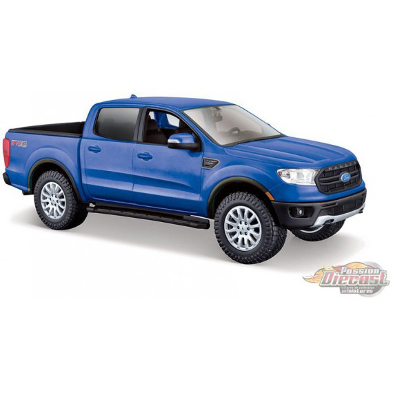 2019 Ford Ranger Blue - Maisto 1/24 -  31521 BL - Passion Diecast