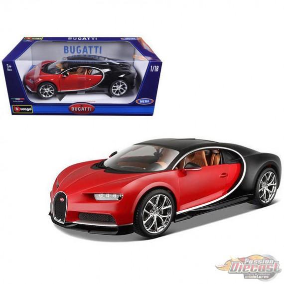 Bugatti Chiron Price: Red & Black 1:18 Bburago 18-11040 RD