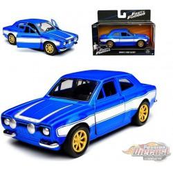 BRIAN'S FORD ESCORT RS2000 MK1 - Fast & Furious -  Jada 1:32  - 97188  - Passion Diecast