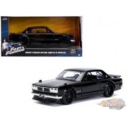 Brian's Nissan Skyline 2000 GT-R  - Fast & Furious -  Jada 1:32  - 99602  - Passion Diecast