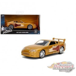 Slap Jack's Toyota Supra Bronze  - Fast & Furious -  Jada 1:32  - 99542  - Passion Diecast