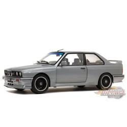 BMW E30 M3 1990  Silver -  Solido  1/18 - S1801506 -  Passion Diecast