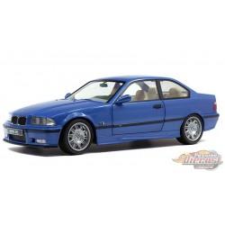 1990  BMW M3 Coupe E36 estoril blue -  Solido  1/18 - S1803901 -  Passion Diecast