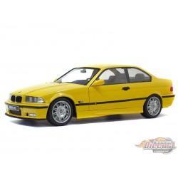 1994  BMW M3 Coupe E36  Yellow -  Solido  1/18 - S1803902