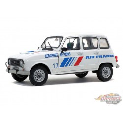 Renault 4 GTL 1978 AIR FRANCE  -  Solido  1/18 - S1800108 -  Passion Diecast