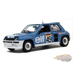 Renault 5 Turbo no 49 Rohrl Europa Cup 1981 -  Solido  1/18 - S1801307 -  Passion Diecast
