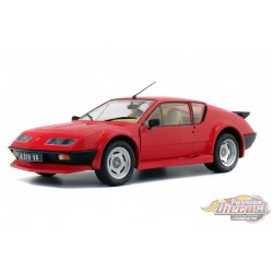 Renault Alpine A310 Pack GT 1983  Red  -  Solido  1/18 - S1801202 -  Passion Diecast