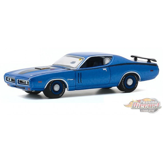 1971 Dodge Charger R/T - Mecum Auctions Series 5  -  greenlight 1-64  - 37210 D - Passion Diecast