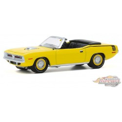 1970 Plymouth HEMI Cuda - Mecum Auctions Series 5  -  greenlight 1-64  - 37210 C -  Passion Diecast
