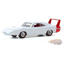 1969 Dodge Charger Daytona - Mecum Auctions Series 5  -  greenlight 1-64  - 37210 B - Passion Diecast