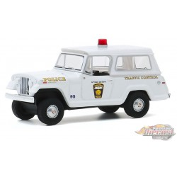 1969 Kaiser Jeep Jeepster City of Toledo, Ohio Police - Hot Pursuit Series 35 -  1-64 greenlight 42920 A -  Passion Diecast