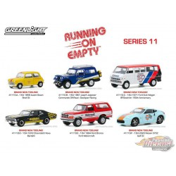 Running on Empty Series 11 Assortiment  1-64 greenlight - 41110  -  Passion Diecast