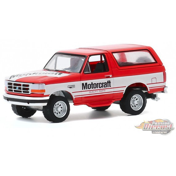 1994 Ford Bronco - Ford Motorcraft - Running on Empty Series 11 - greenlight 1-64  - 41110 E -  Passion Diecast