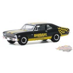 1972 Chevrolet Nova - Bardahl - Running on Empty Series 11 - greenlight 1-64  - 41110 D  -  Passion Diecast