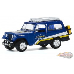 Jeep Jeepster Commando Off-Road - Goodyear Racing  - Running on Empty Series 11 - greenlight 1-64  - 41110 B - Passion Diecast