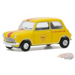 1959 Austin Seven - Shell Oil  - Running on Empty Series 11 - greenlight 1-64  - 41110 A - Passion Diecast