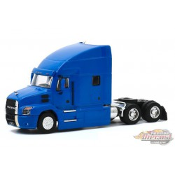 Mack Anthem Truck Cab 2019  cobalt Blue  - S.D. Trucks Series 10 - greenlight 1-64 -  45100 B -  Passion Diecast