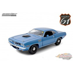 1971 Plymouth HEMI 'Cuda in Blue - Mecum Auctions, Lot S266 -  HWY 61-1/18 - 18025 -  Passion Diecast