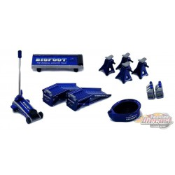 Bigfoot n°1 - The Original Monster Truck - Shop Tool Set n°1 -  GMP  1/18 - 18943 - Passion Diecast