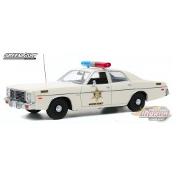1975 Dodge Coronet   Hazzard County Sheriff  Greenlight Artisan 19092  PASSION DIECAST