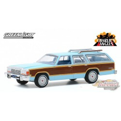 1979 Ford LTD Country Squire - Charlie's Angels  - Hollywood 29 - 1-64  greenlight - 44890 E - Passion  Diecast