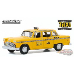 1974 Checker Taxi Sunshine Cab Company no 804 - Taxi  - Hollywood 29 - 1-64  greenlight - 44890 C Passion Diecast