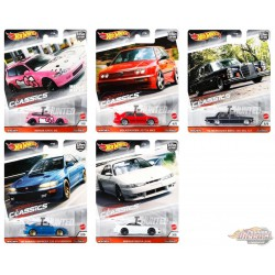 Hot Wheels 1:64 Car Culture 2020  ''S'' Case Modern Classic  Assortment - SET OF 5 CARS - FPY86-956S - Passion Diecast
