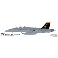 McDonnell Douglas F/A-18F Super Hornet - RAAF No.1 Sqn, 100th Anniversary - Hobby Master 1/72 HA5117 - Passion Diecast