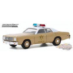1975 Dodge Coronet - Choctaw County Sheriff - greenlight 1/64 - Hobby Exclusif - 30188 Passion Diecast