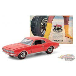 "1967 Chevrolet Camaro - Wide Boots ""New Wide Tread tires from Goodyear"" - greenlight 1/64  Hobby Exclusive - 30195"