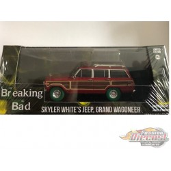 Breaking Bad (TV Series) - Skylar White's 1991 Jeep Grand Wagoneer (Flat Art,High Res) GREENMACHINE 1/43