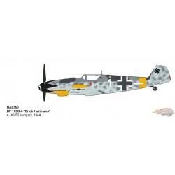 Messerschmitt Bf 109G - Luftwaffe 4./JG 52, Erich Hartmann, Hungary, 1944 - Hobby Master 1/48 HA8750 - Passion Diecast