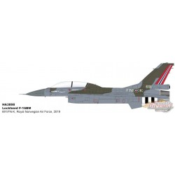 Lockheed F-16BM Fighting Falcon - Royal Norwegian Air Force, Bodo, Norway, 2019 - Hobby Master 1/72 HA3898 - Passion Diecast