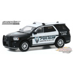 2018 Dodge Durango Policia - Municipal de San Juan, Puerto Rico - greenlight 1/64 - Hot Pursuit  Hobby Exclusif - 30197
