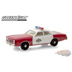 1977 Dodge Monaco - Finchburg County Sheriff  -   greenlight 1/64   Hobby Exclusif - 30203