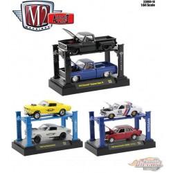 Auto-Lift Release 18 - 3  Pcs Assortment  - M2 Machine  1:64 - 33000-18  -  Passion Diecast