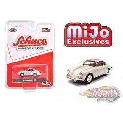 Porsche 356 (Silver) European Classics -  Schuco 1:64 MiJo Exclusives - 4300 -  Passion Diecast