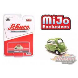 BMW Isetta (Green) European Classics -  Schuco 1:64 MiJo Exclusives - 3800 -  Passion Diecast