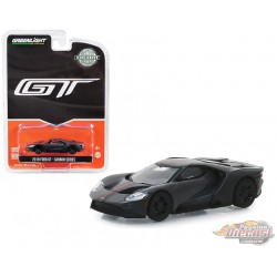 2019 Ford GT - Carbon Series - Orange Accent Color - greenlight 1/64  Hobby Exclusive - 30039