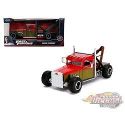 Custom Peterbilt Tow Truck - Fast & Furious Hobbs & Shaw -  Jada 1/24 - 320899 -  Passion Diecast